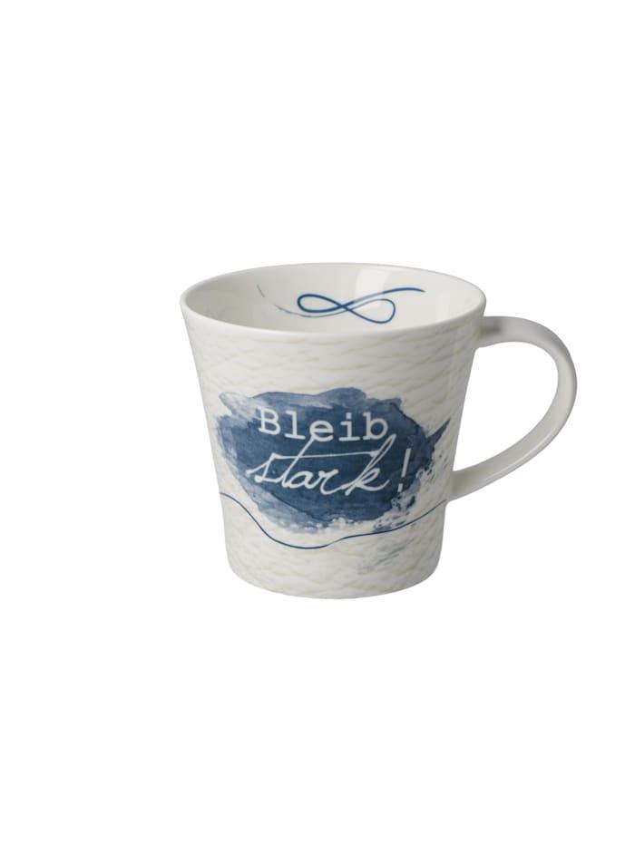 Goebel Goebel Coffee-/Tea Mug Bleib stark!, Bunt