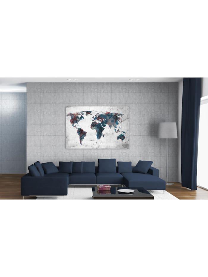 Wandbild Unentdeckte Kontinente