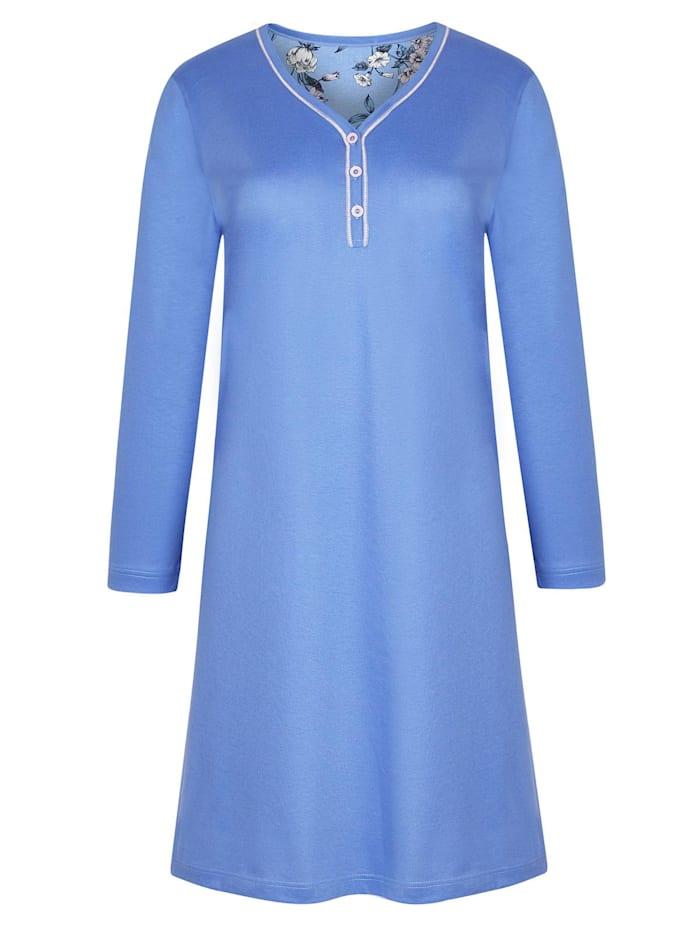 Cybèle Damen Sleepshirt Nachtwäsche, lavendel