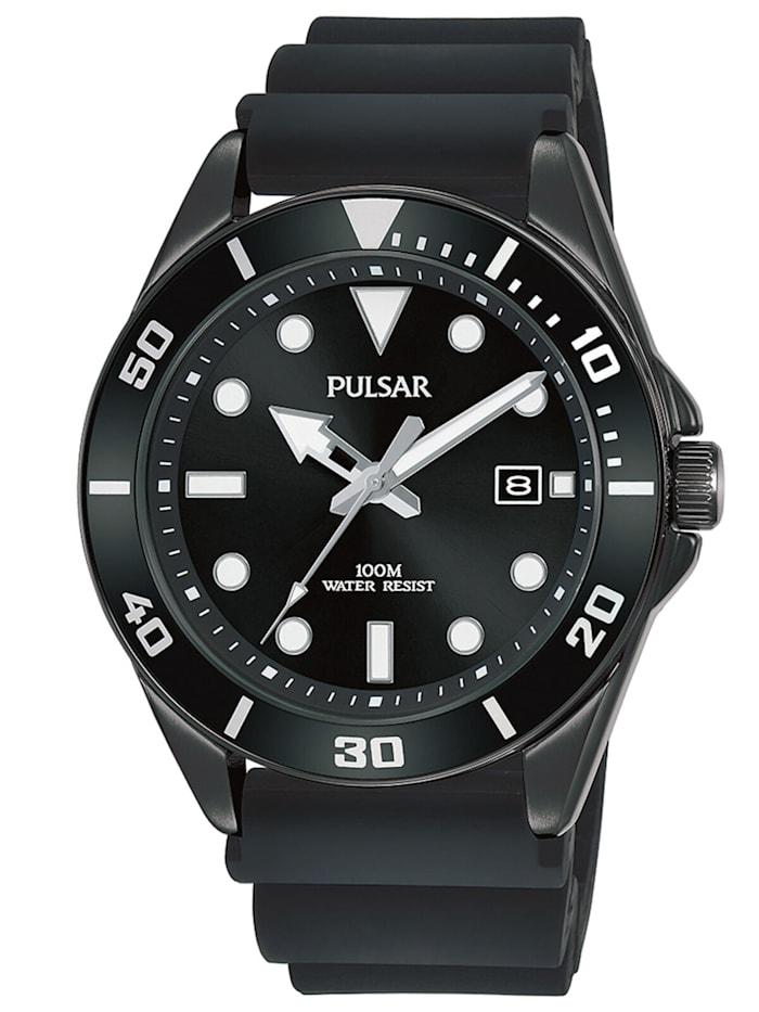 Pulsar Herren-Armbanduhr, Schwarz