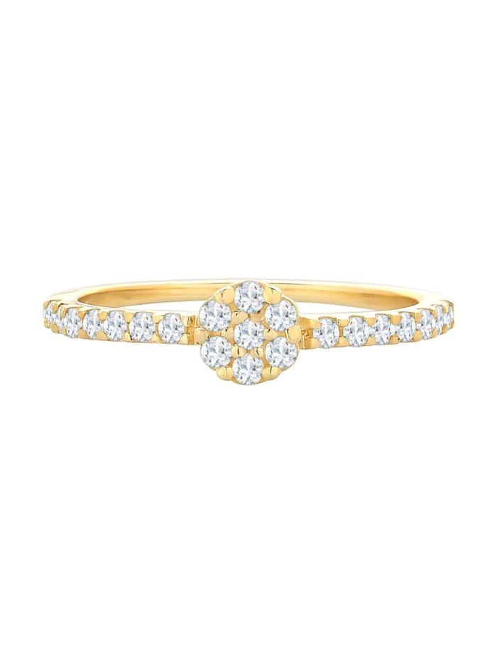 Ring Verlobungsring Topas Edelstein Fein 585 Gelbgold