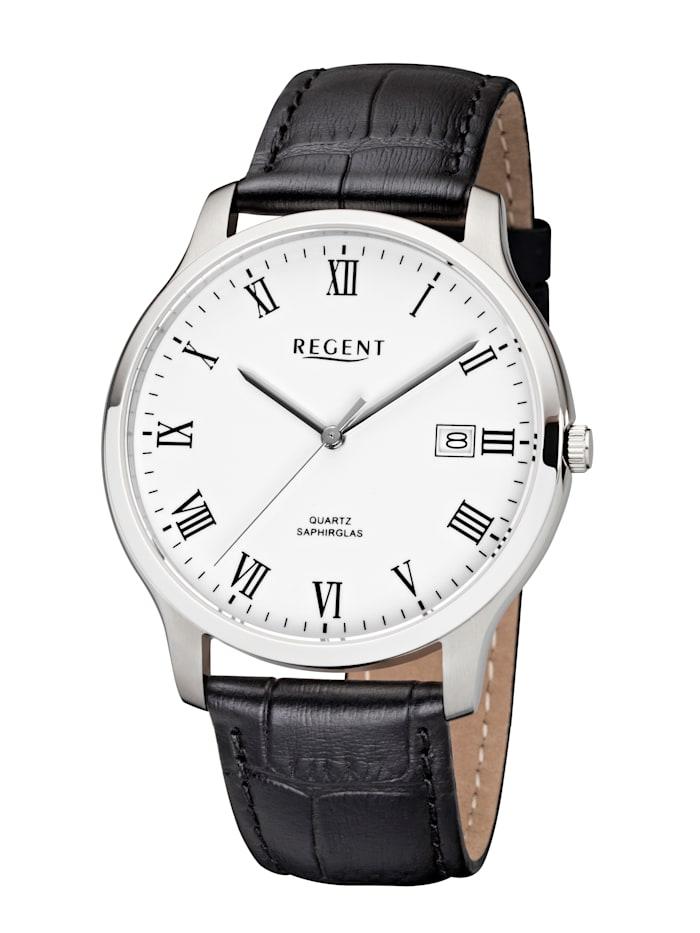 Regent Herrenuhr 11110661, Schwarz