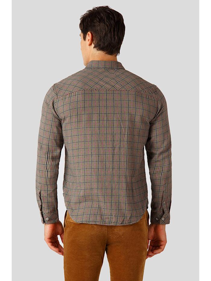 Hemd mit modischem Karo-Muster