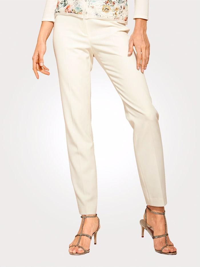 Artigiano Hose mit Elasthan, Creme-Weiß