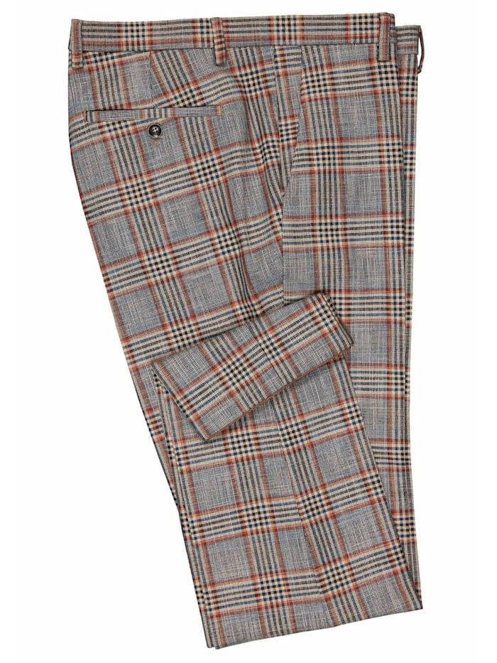 Anzug-Hose CG Cole in Check Design