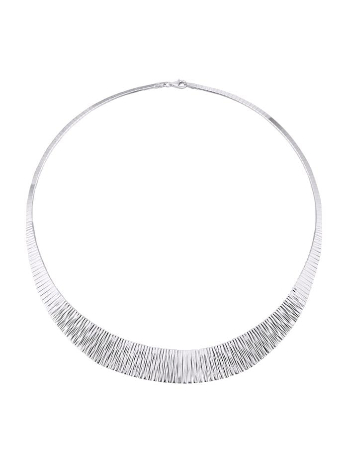 Diemer Trend Cleopatra-Collier, Silberfarben