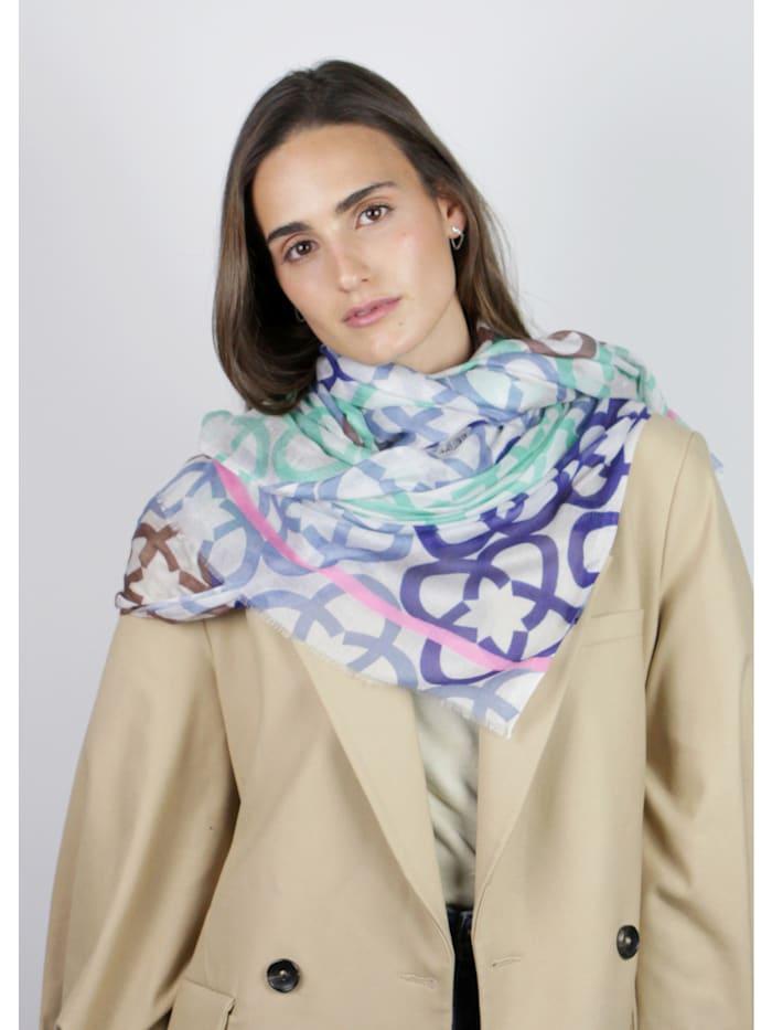 Premium Logo-Schal aus Modal und Seide