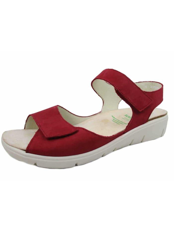 Solidus Sandalen/Sandaletten, rot