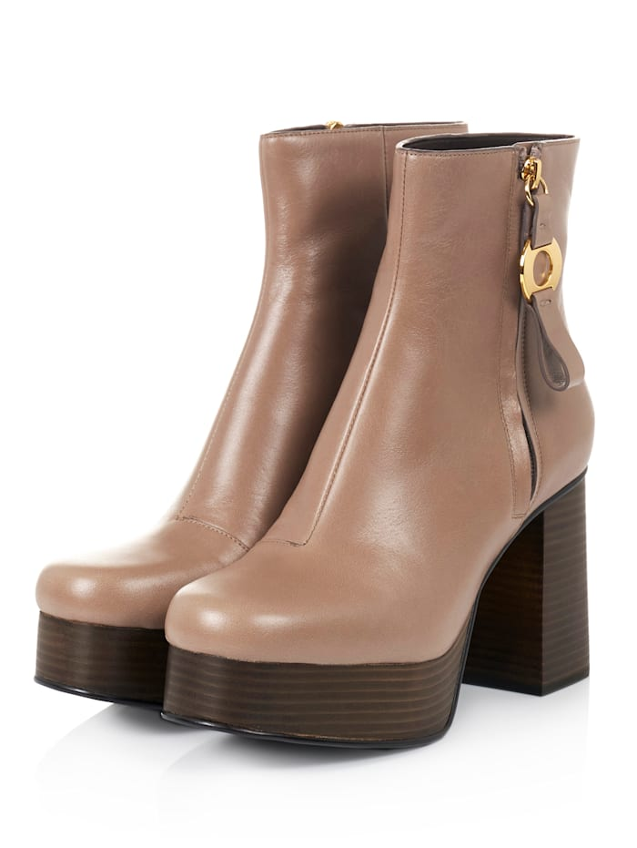SEE BY CHLOÉ Stiefelette, Taupe