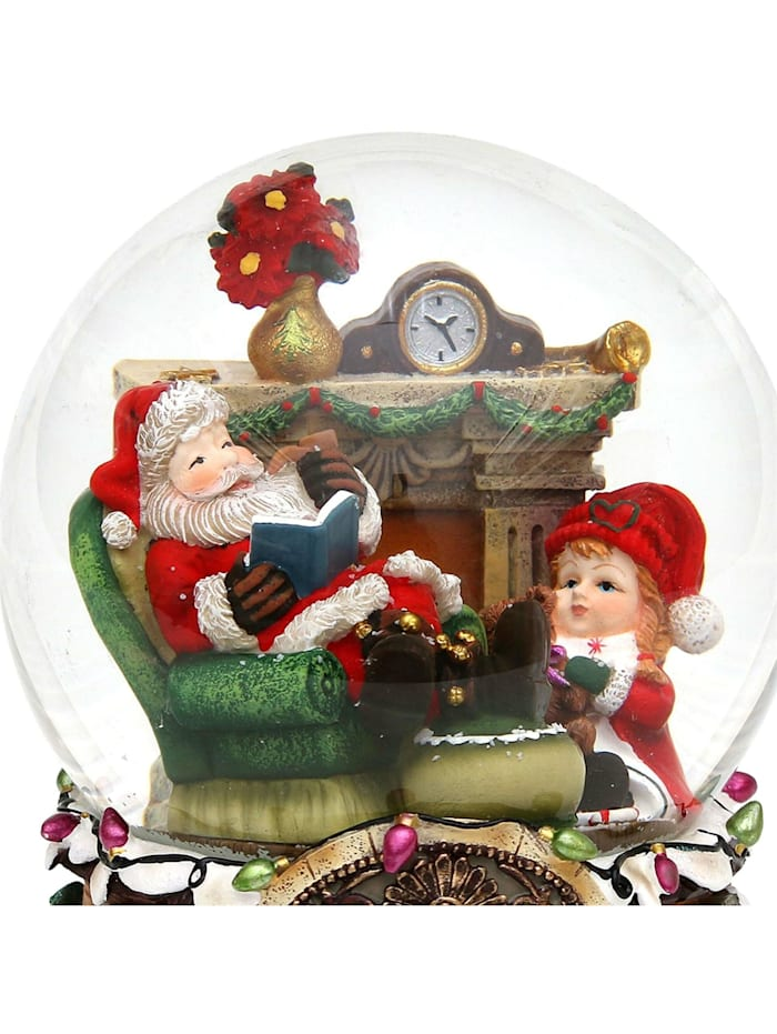 Sigro Schneekugel XXL Santa, Bunt