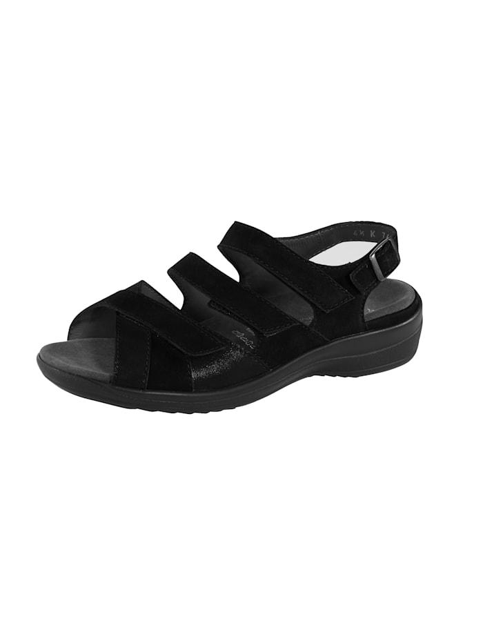 Ströber Sandale, Schwarz
