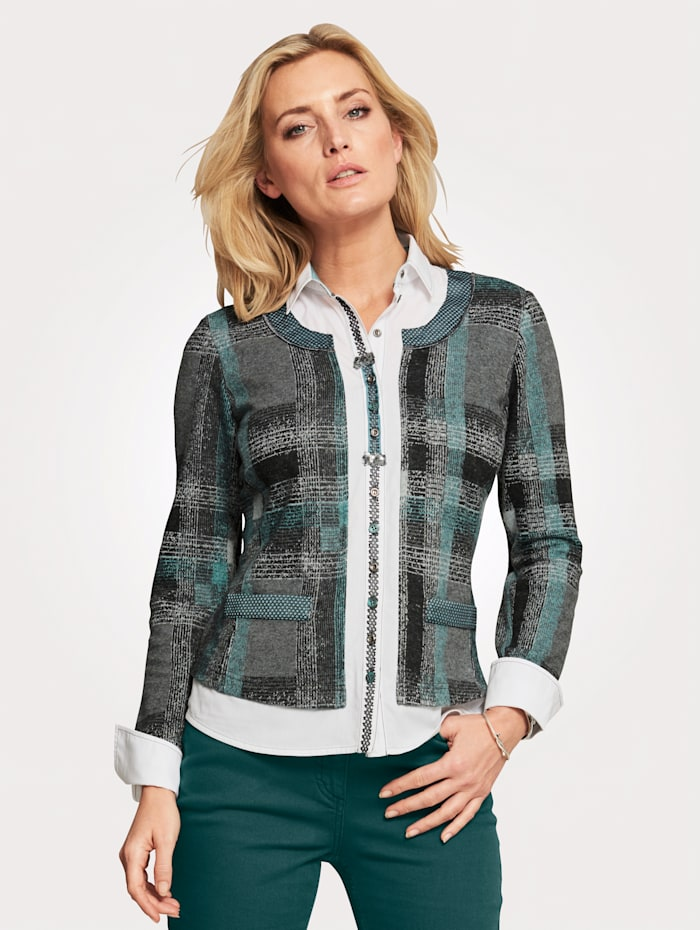 Blouse Innovative 2-in-1 look top