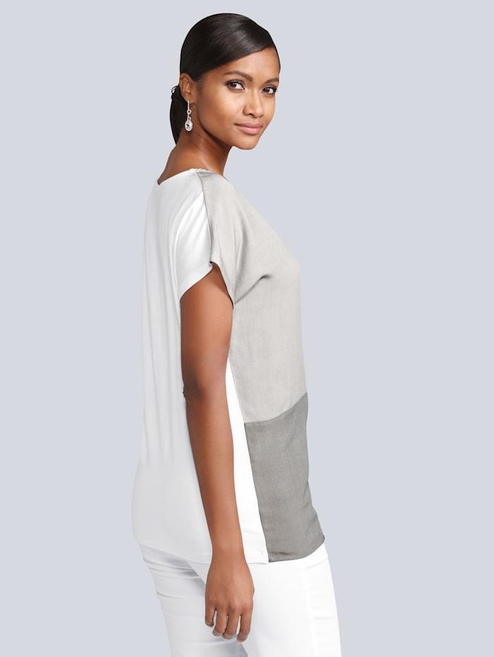 Shirt in schönem Colour Blocking Dessin