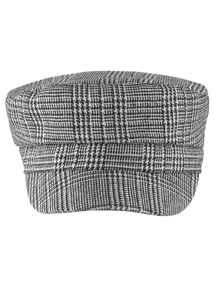 SIENNA Mütze, schwarz/weiß