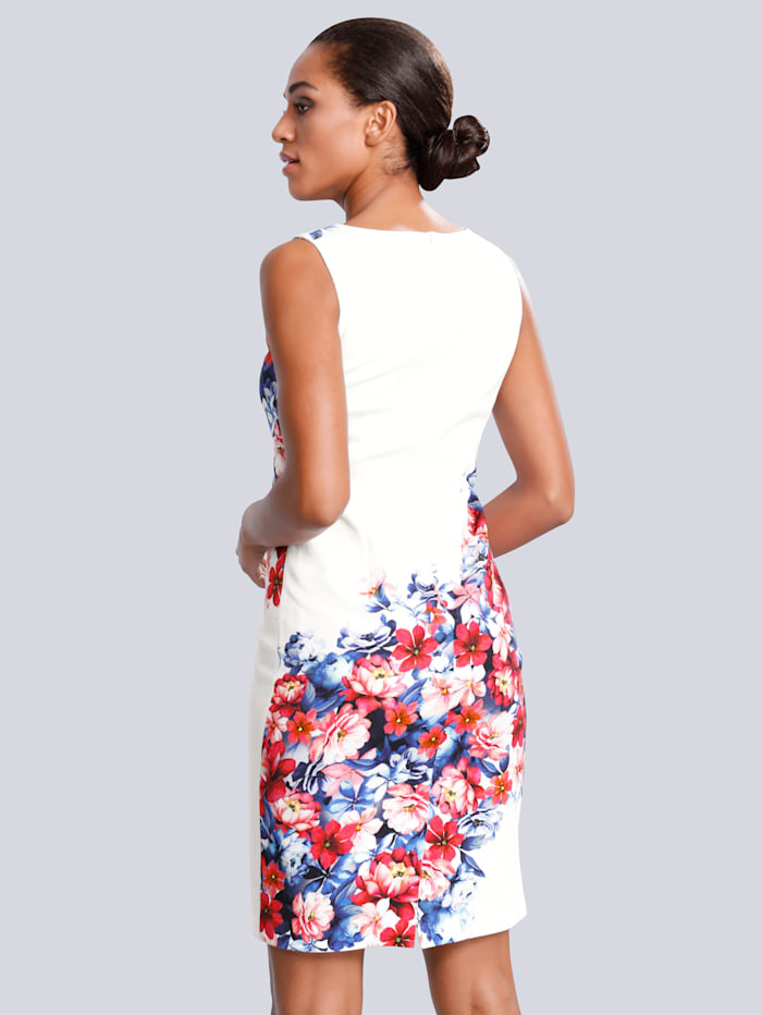 Robe Imprimé floral devant et dos