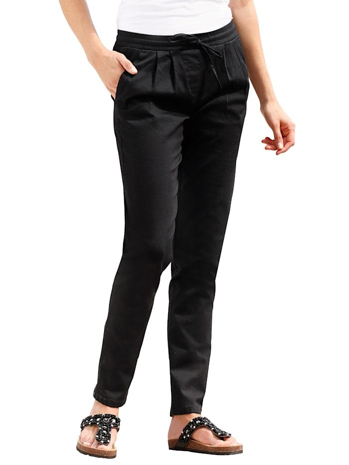 Dress In Pantalon Sandra, Noir