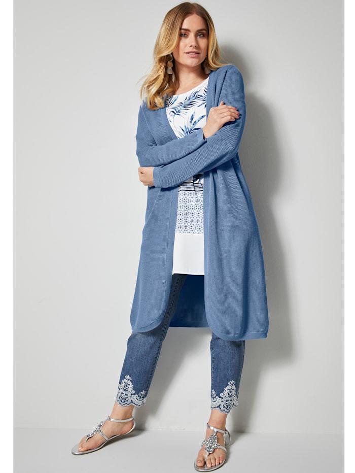 Manteau en maille en pur coton