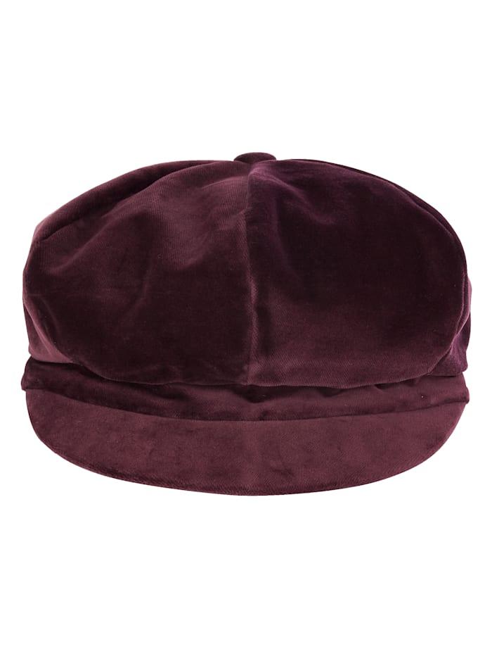 MONA Bakerboy cap, Berry