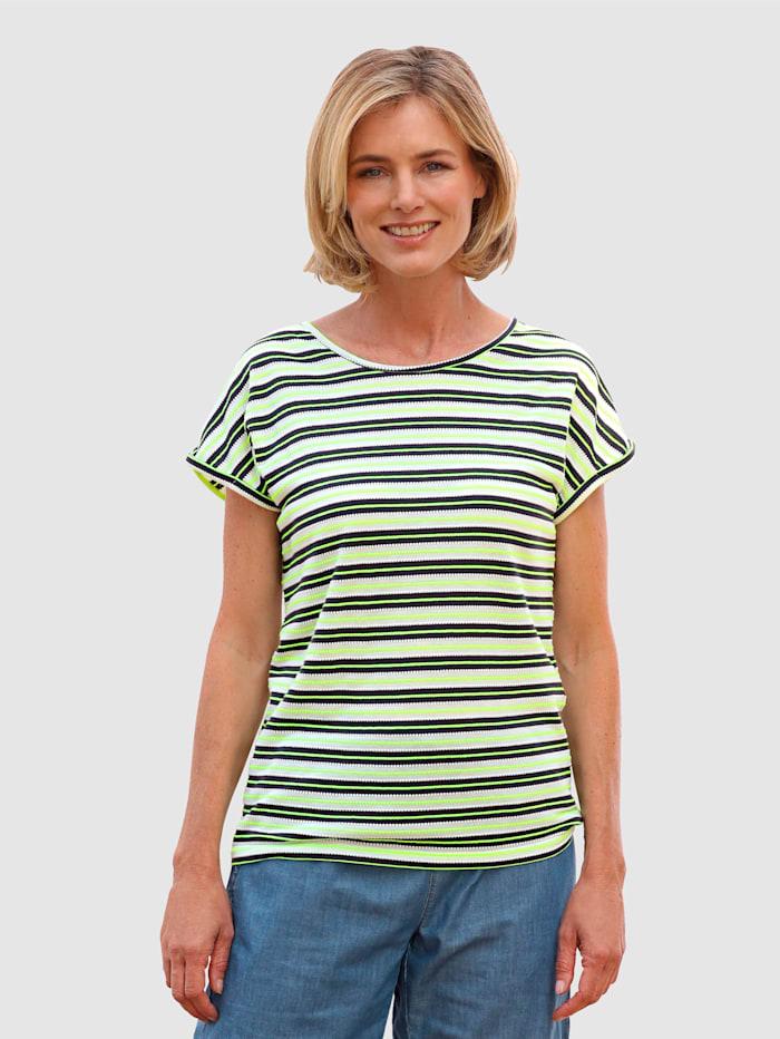 Shirt mit strukturierter Qualität