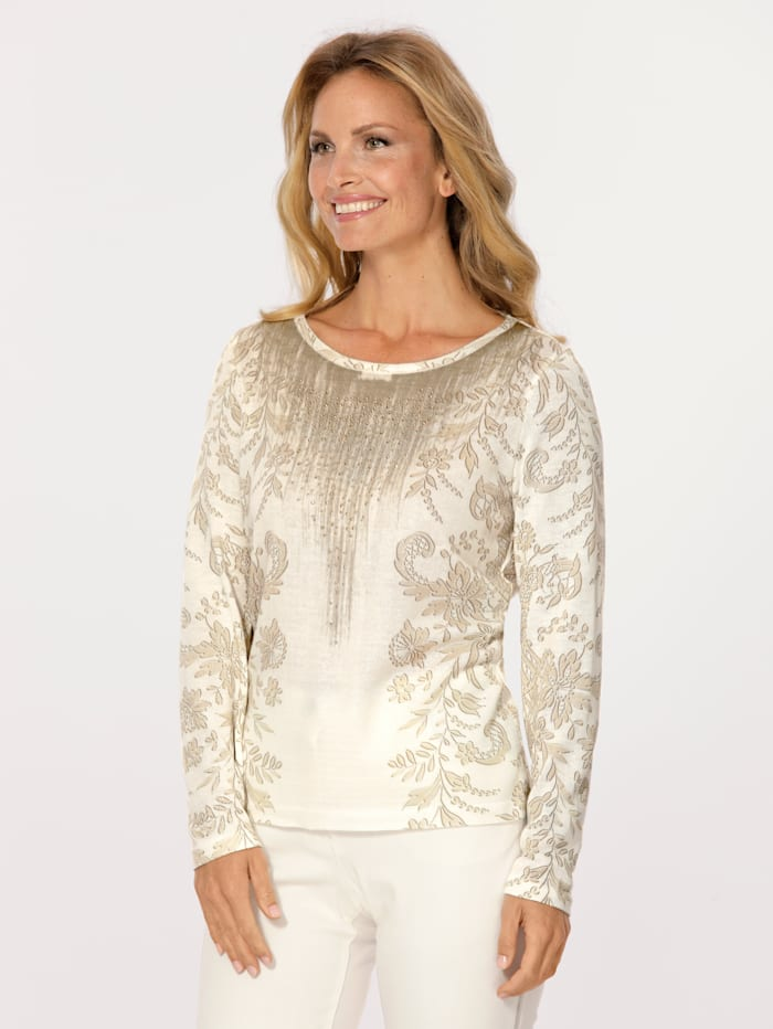 Jumper with a graphic print