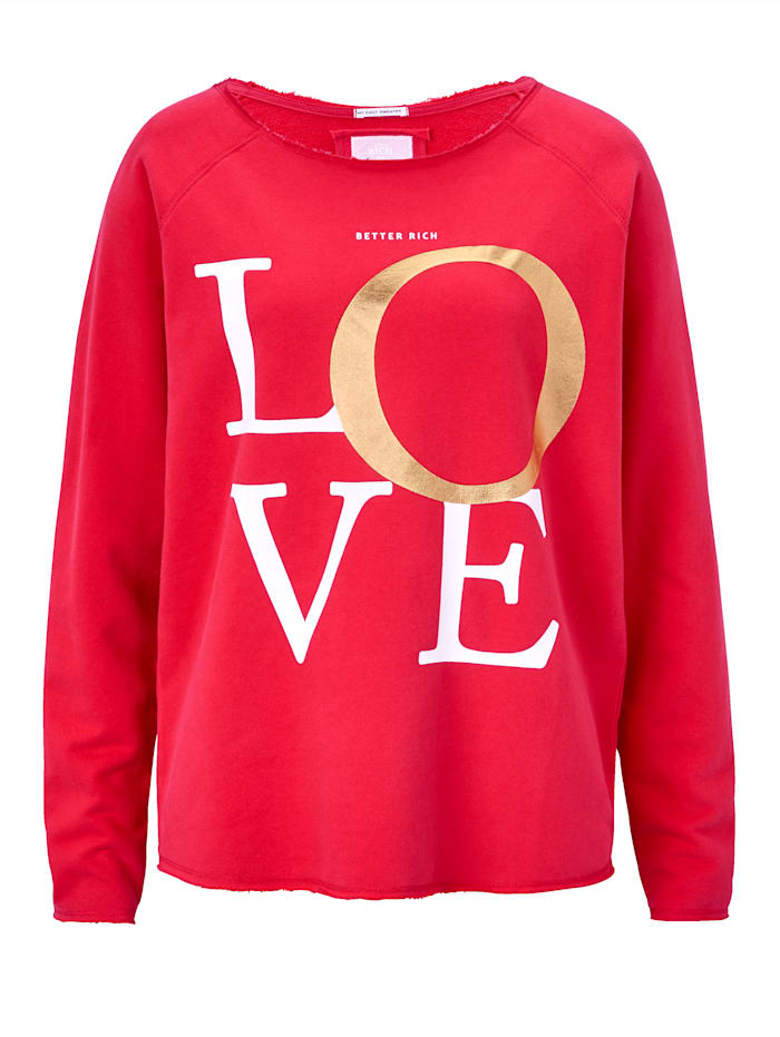 BETTER RICH Sweatshirt, Rot