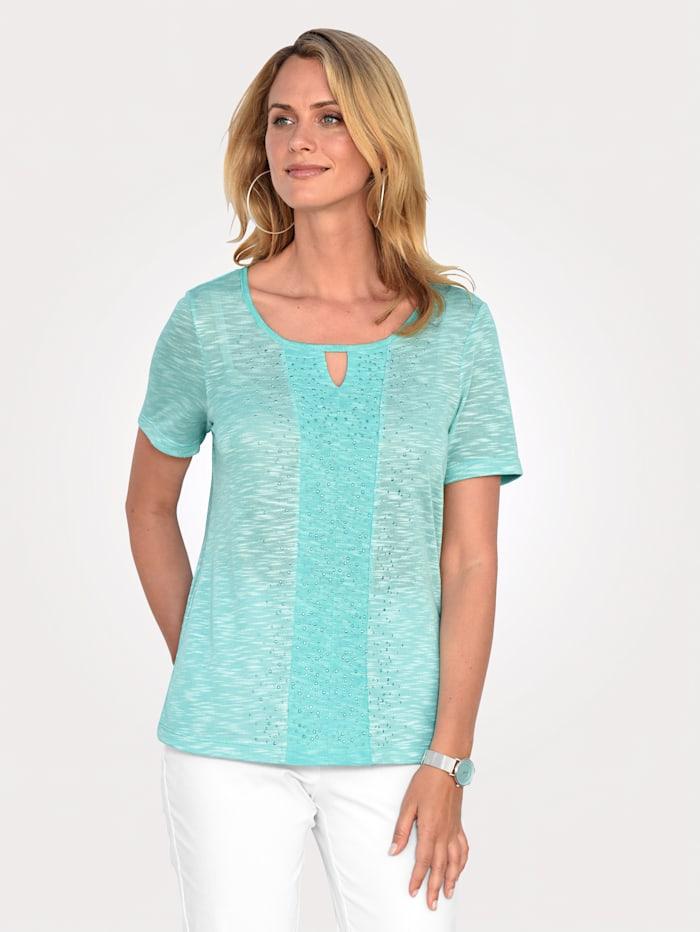 Shirt mit Melangegarn