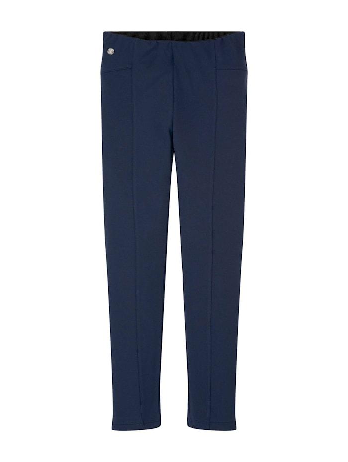 Tom Tailor Leggings mit elastischem Bund, dress blue|blue
