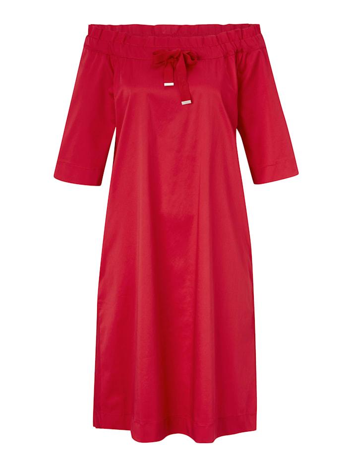 REKEN MAAR Kleid, Rot