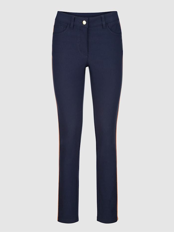 Pantalon Laura Extra Slim avec galons de coloris contrastant