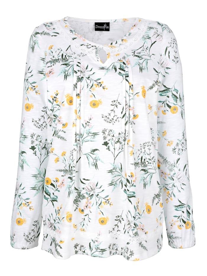 Shirt mit schönem Blumenprint