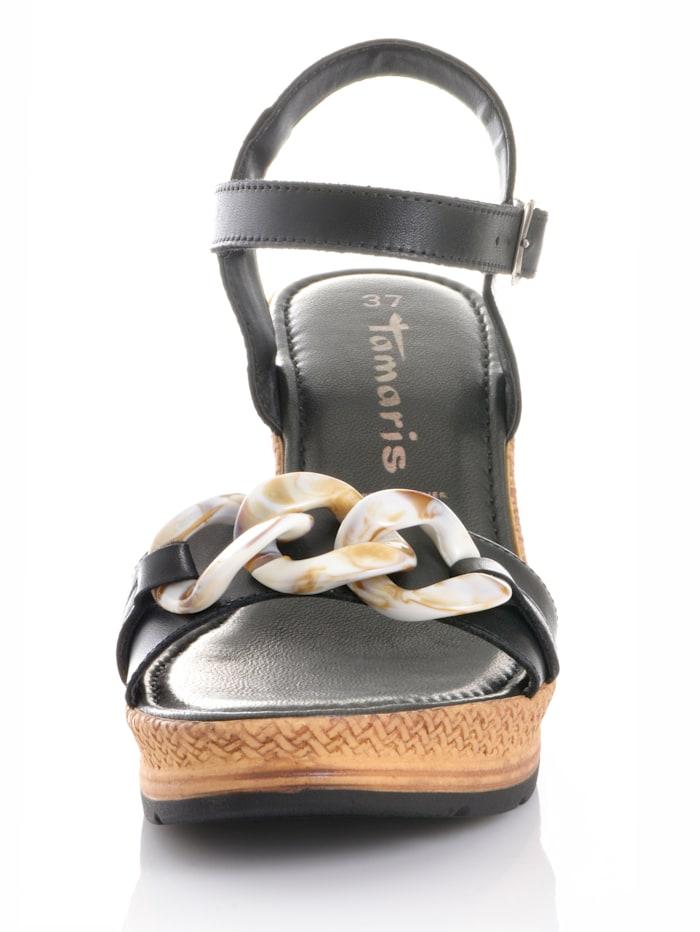 Sandalette aus Rindsleder