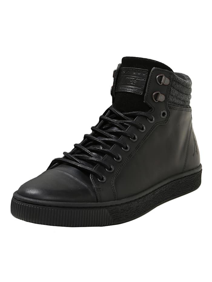 COX Sneaker High Hi-Top Sneaker, schwarz