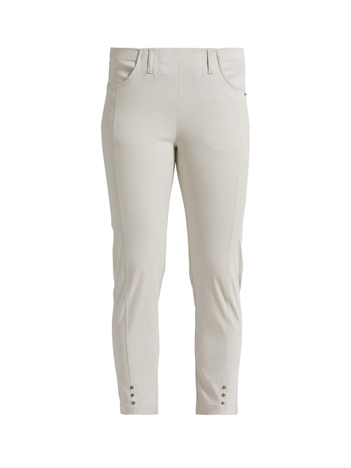LauRie 7/8-Hose Chloe mit Stretch-Anteil, Grey sand