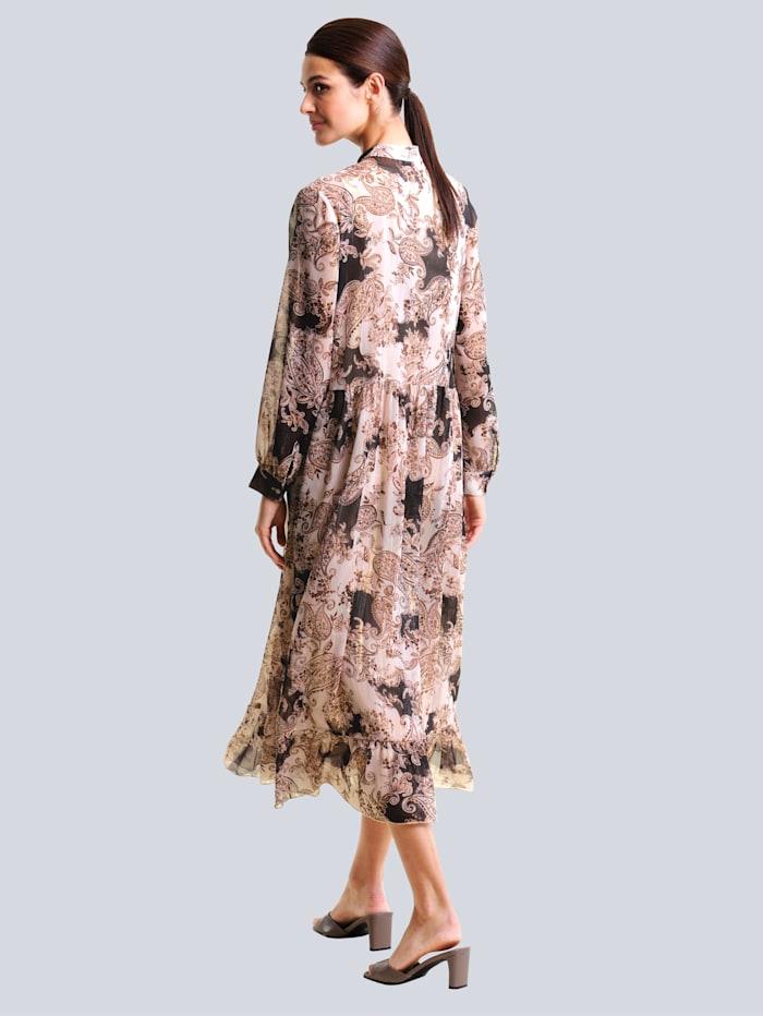 Kleid im exklusiven Druck von Alba Moda