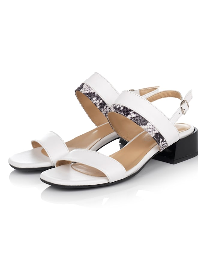 SIENNA Sandale, Weiß