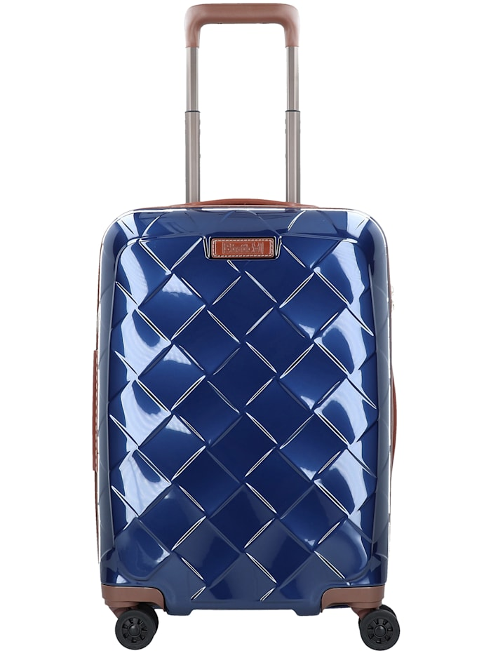 Leather & More 4-Rollen Kabinentrolley 55 cm