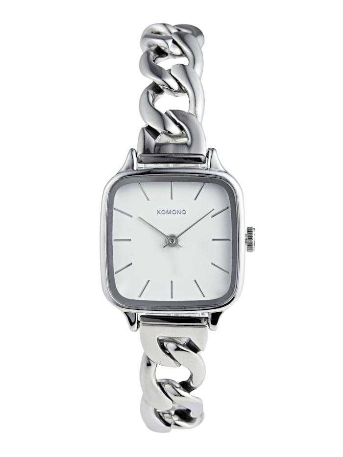 Komono Armbanduhr, Silberfarben
