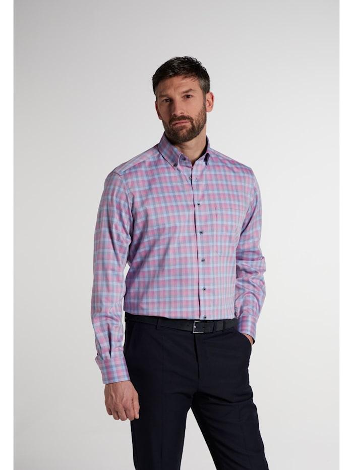 Eterna Eterna Langarm Hemd COMFORT FIT Eterna Langarm Hemd COMFORT FIT, pink/hellblau