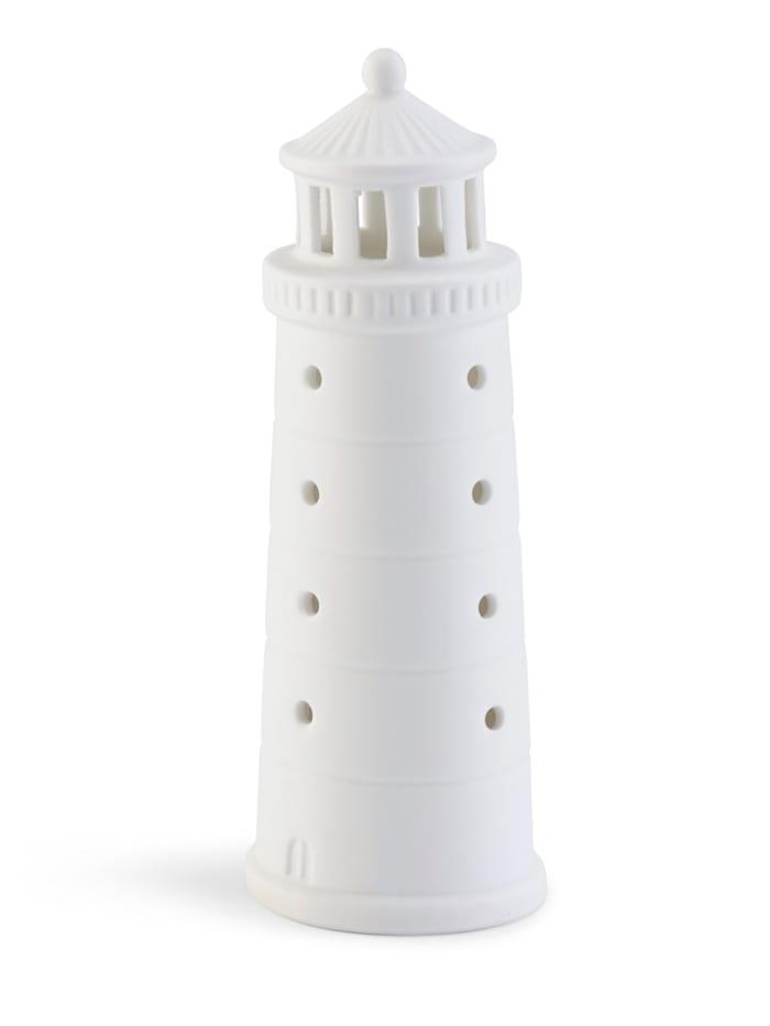 räder Deko-Leuchtturm, weiß