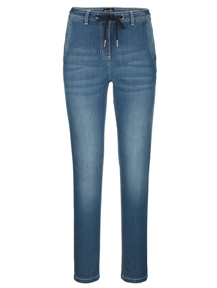 Jeans in boyfriend-stijl