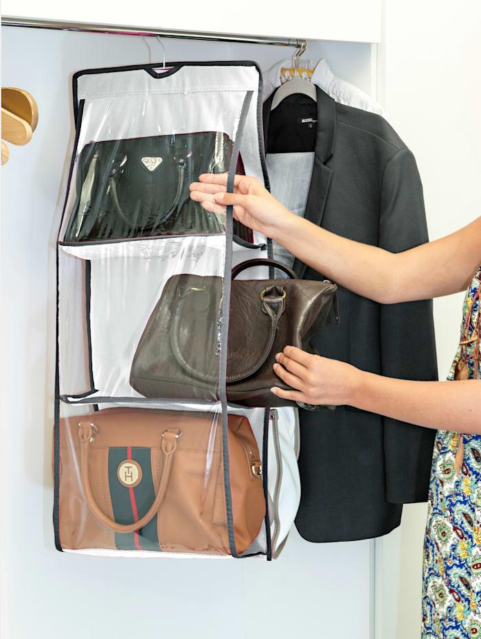 Hängande förvaring för handväskor