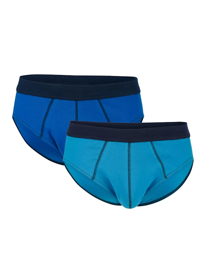 G Gregory Sportslips per 2, Blauw/Turquoise