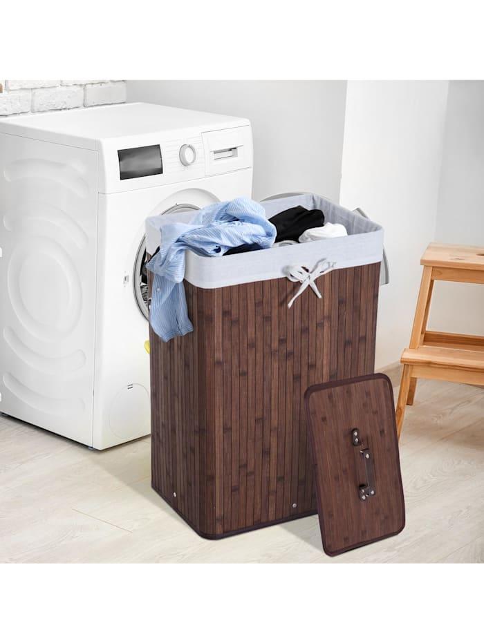Wäschekorb mit 2 Tragegriffen