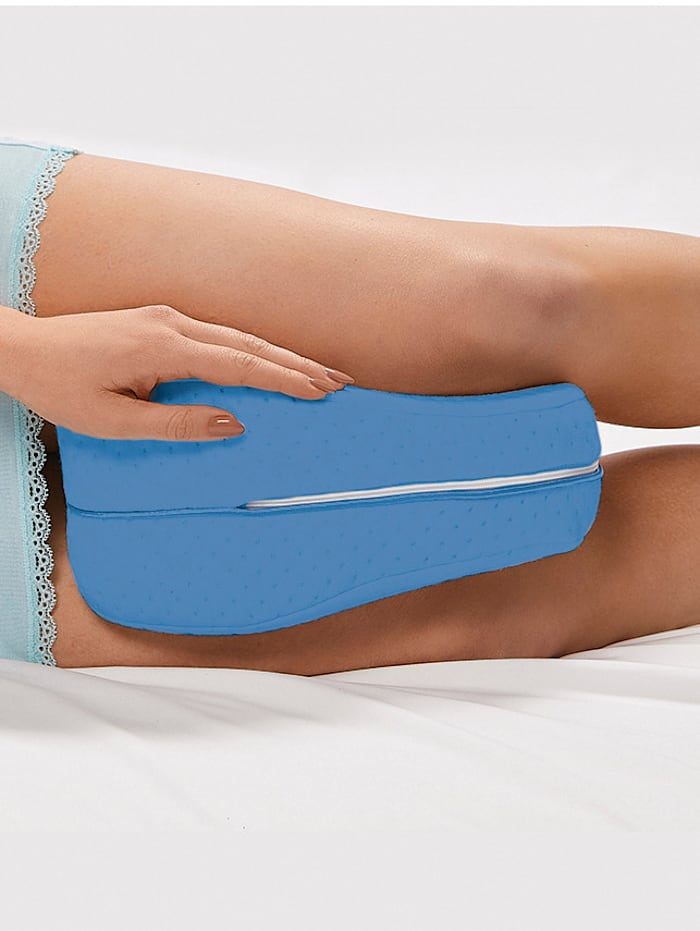 MediaShop Knie- en beenkussen Dreamolino Cool Leg, blauw