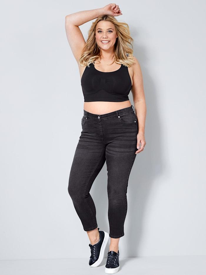 Jeans met push-up effect