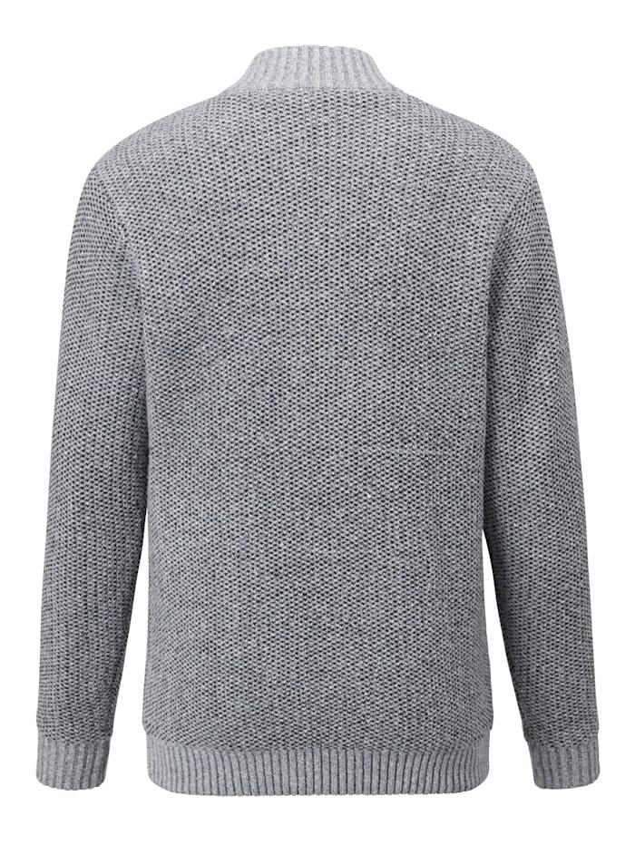 Vest met warme fleece voering