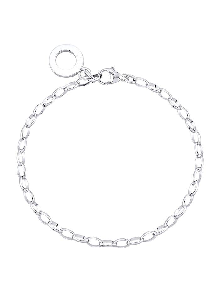 Atelier Imperial Sisi Armband för berlocker i silver 925, Silverfärgad