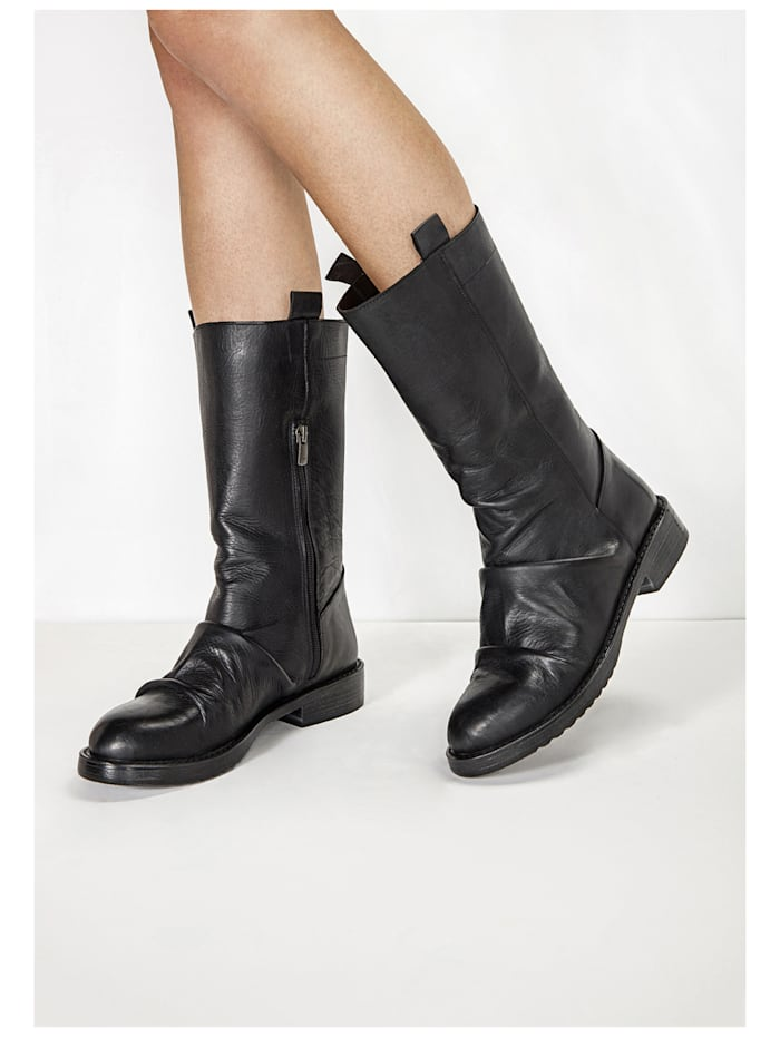 Inuovo Inuovo Stiefel, Schwarz
