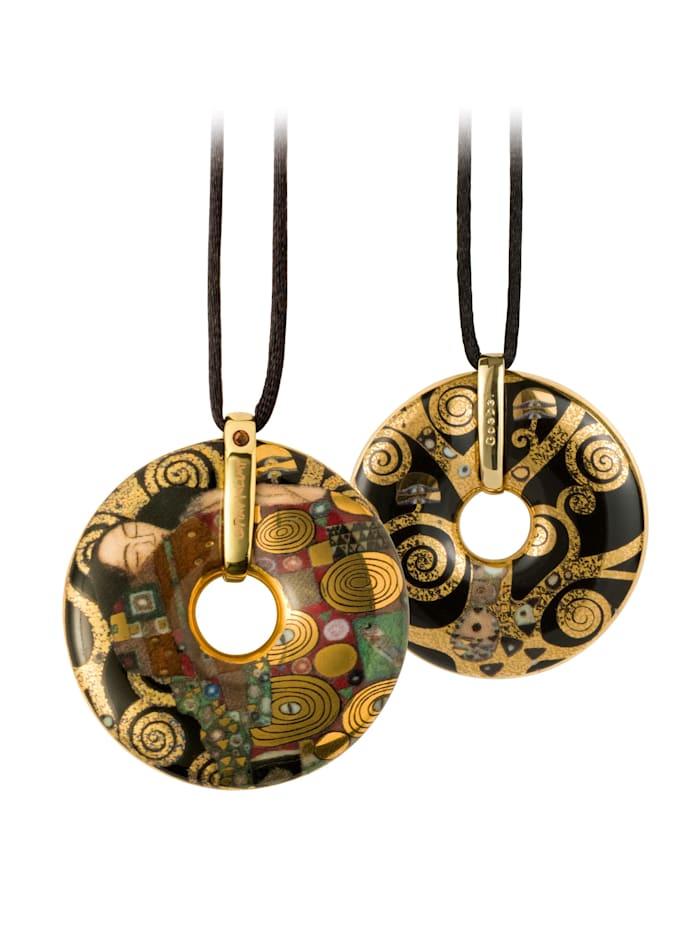 """Goebel Goebel Halskette Gustav Klimt - """"Die Erfüllung"""" Mit Swarovski(R) Kristallen, Klimt - Erfüllung"""