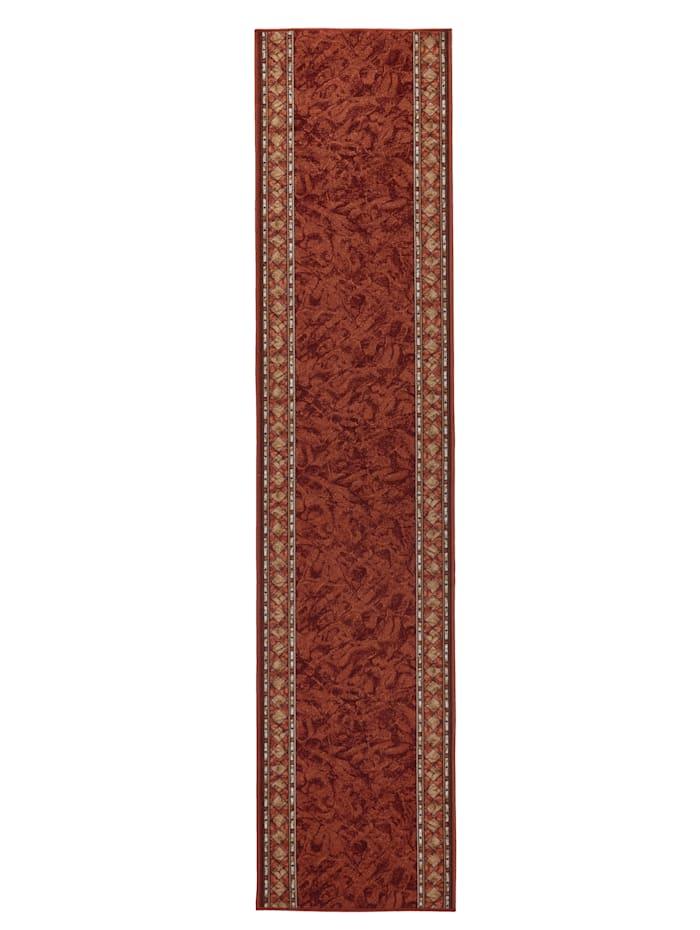 Floordirekt Läufer und Stufenmatten gewebt Oskar, Terracotta